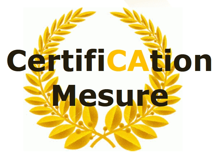 Certification mesure