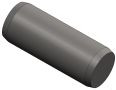 10 Goupille cylindrique ISO2338 4x10 A